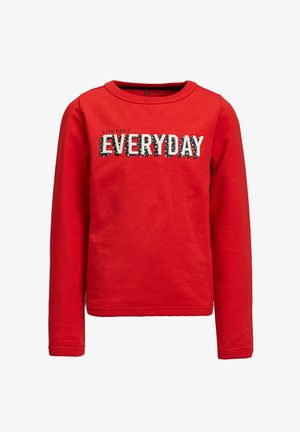 MET 3D EMBROIDERY - Sweater - bright red