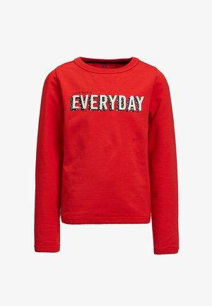 MET 3D EMBROIDERY - Sweatshirt - bright red