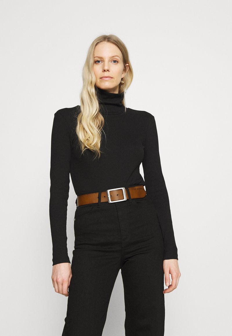 Anna Field - Top sdlouhým rukávem - black