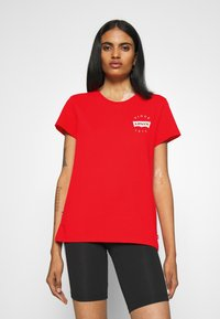 Levi's® - THE PERFECT TEE - T-shirts - poppy red - 0