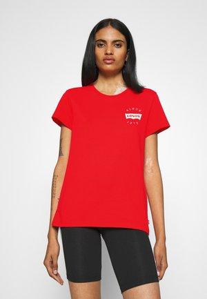 THE PERFECT TEE - T-shirts - poppy red