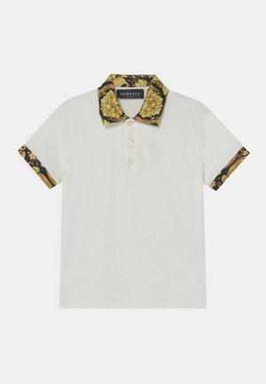 HERITAGE MEDUSA  - Polo shirt - white/black/gold