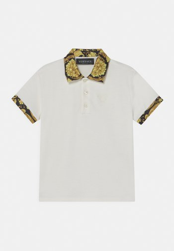 HERITAGE MEDUSA  - Polo shirt - white/black/gold