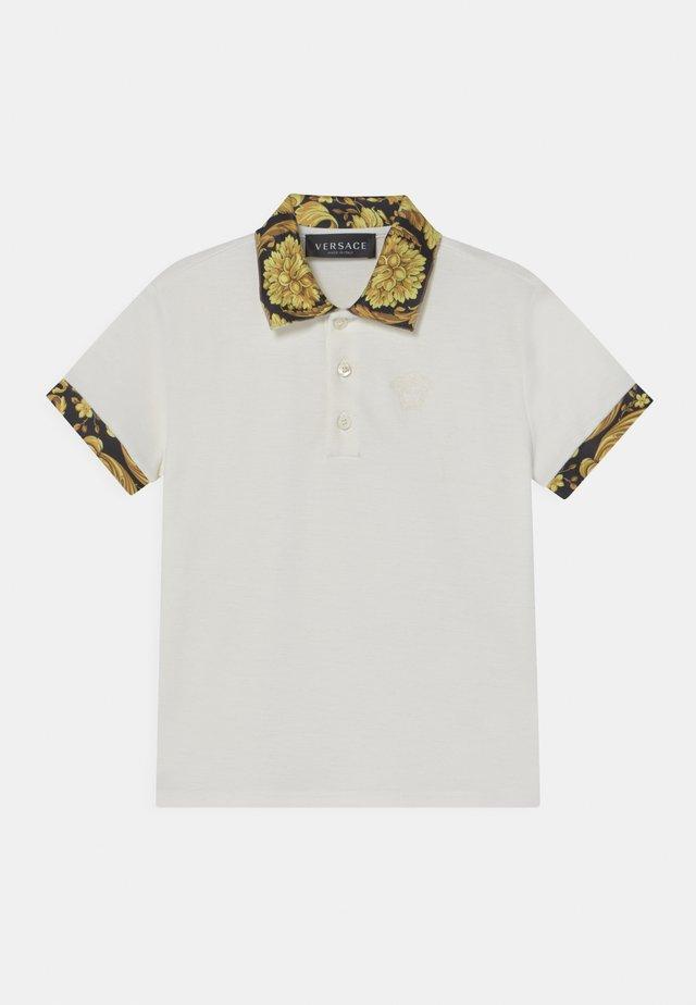 HERITAGE MEDUSA  - Poloshirt - white/black/gold