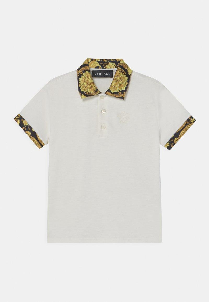 Versace - HERITAGE MEDUSA  - Polo shirt - white/black/gold