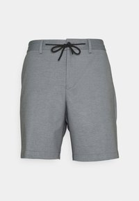 Selected Homme - SLHPETE STRING CAMP - Shorts - light grey melange - 5