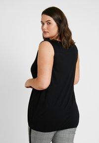 New Look Curves - HEM SLUB - Top - black - 2