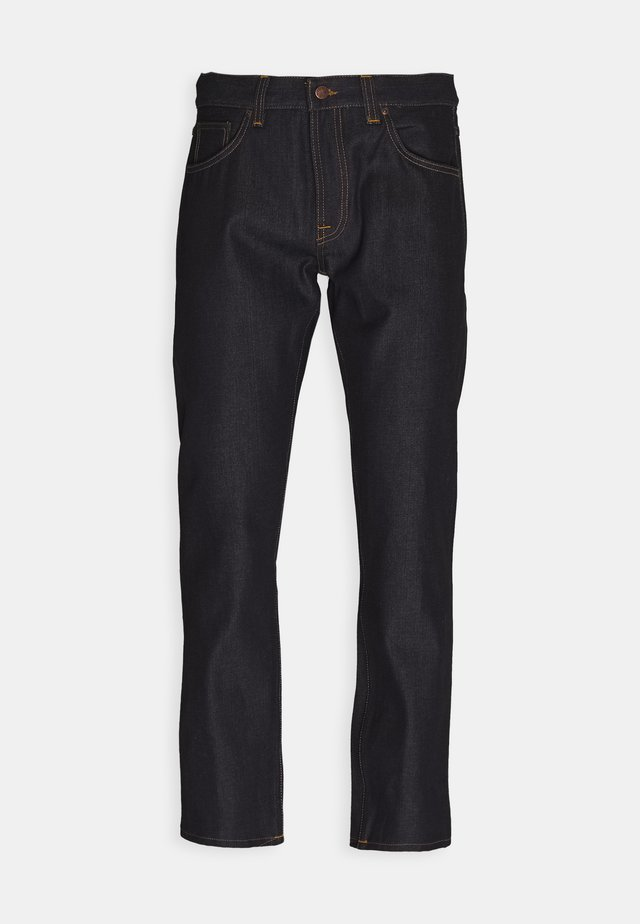 GRITTY JACKSON - Jeans Straight Leg - dark blue denim