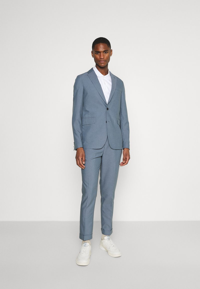 Isaac Dewhirst - UNSTRUCTURED  - Suit - blue