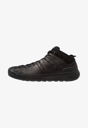 HUECO ADVANCED MID GTX MEN - Obuwie hikingowe - black