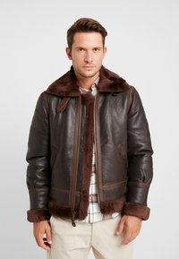 Schott - Leather jacket - aubrun - 0