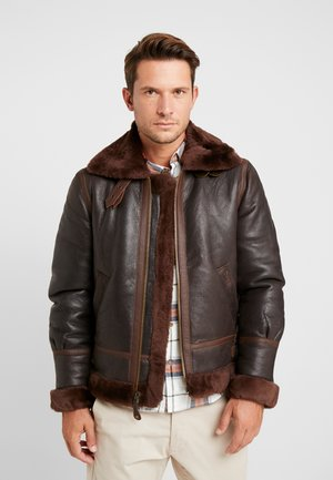 Leather jacket - aubrun