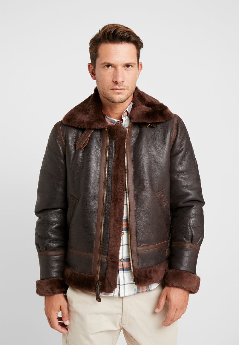 Schott - Leather jacket - aubrun