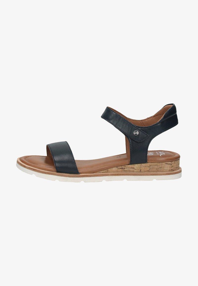 ara - Sandaletter med kilklack - blau