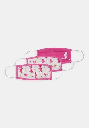 MEECA FACE MASK  3 PACK - Maska z tkaniny - solid pink