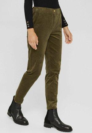 PULL-ON IM -STIL AUS - Trousers - dark khaki
