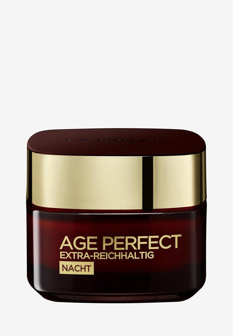 L'Oréal Paris - AGE PERFECT EXTRA-RICH MANUKA NIGHT CREAM 50ML - Night care - -