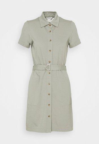 PONTE DRESS - Jersey dress - sage