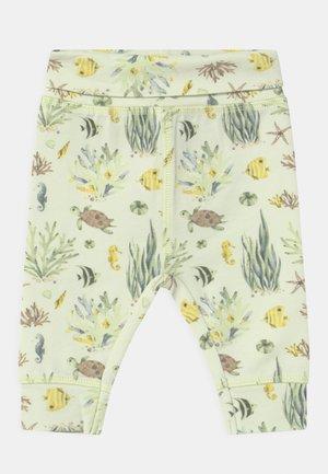 LUCA UNISEX - Trousers - lime mist