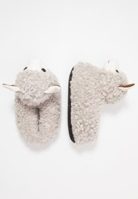 South Beach - LLAMA SLIPPERS - Pantoffels - grey - 3