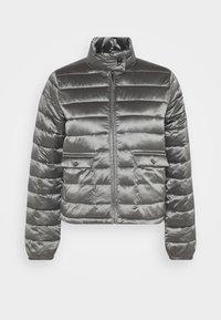 Opus - HALISA - Light jacket - slate grey melange - 4