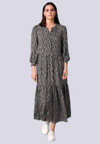 Alba Moda - Maxi dress - schwarz off white beige - 1