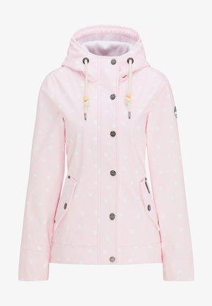Outdoor jacket - pink dots