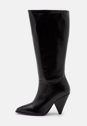 EXCLUSIVE BOOT - Čizme - black