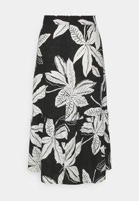 Marks & Spencer London - FLORAL TIER SKIRT - A-line skirt - black - 1