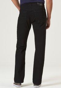 Pioneer Authentic Jeans - HERREN MEGAFLEX RANDO - Straight leg jeans - black - 2