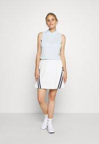 Nike Golf - DRY VICTORY - Funkční triko - topaz mist/white - 1