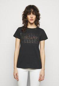 Patrizia Pepe - MAGLIA - Print T-shirt - nero - 0