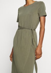 Object - OBJANNIE NADIA DRESS - Maxi-jurk - burnt olive - 4