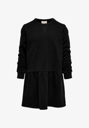 SWEAT - Jersey dress - black