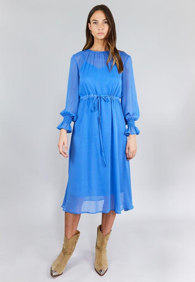 SMOCK  - Vestito estivo - blue