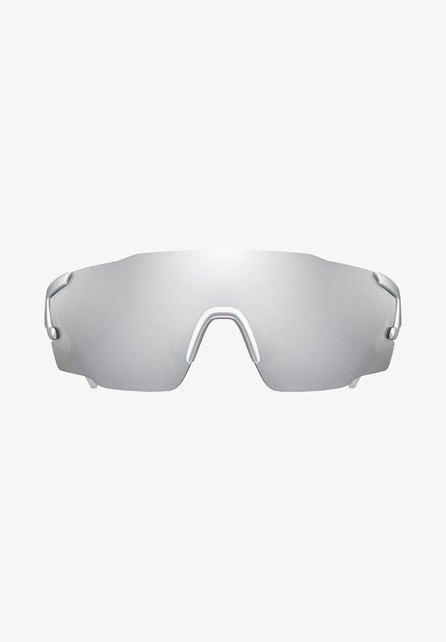 Sports glasses - silver/white