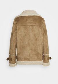 Oakwood - COMMUNITY - Faux leather jacket - beige - 2