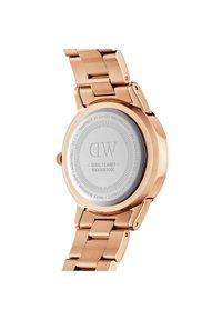 Daniel Wellington - Iconic Link Emerald - Horloge - rose gold - 1