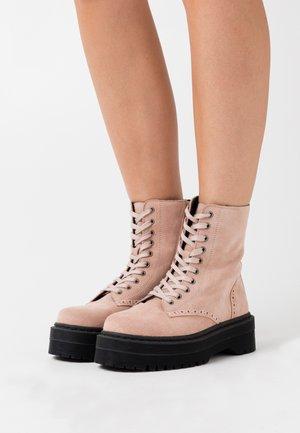 YASMILANI BOOTS - Platform ankle boots - misty rose