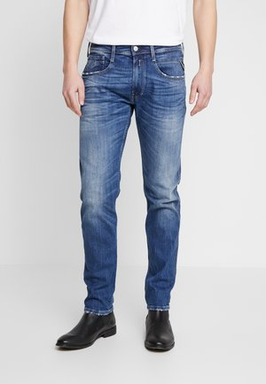 ANBASS - Straight leg jeans - dark blue