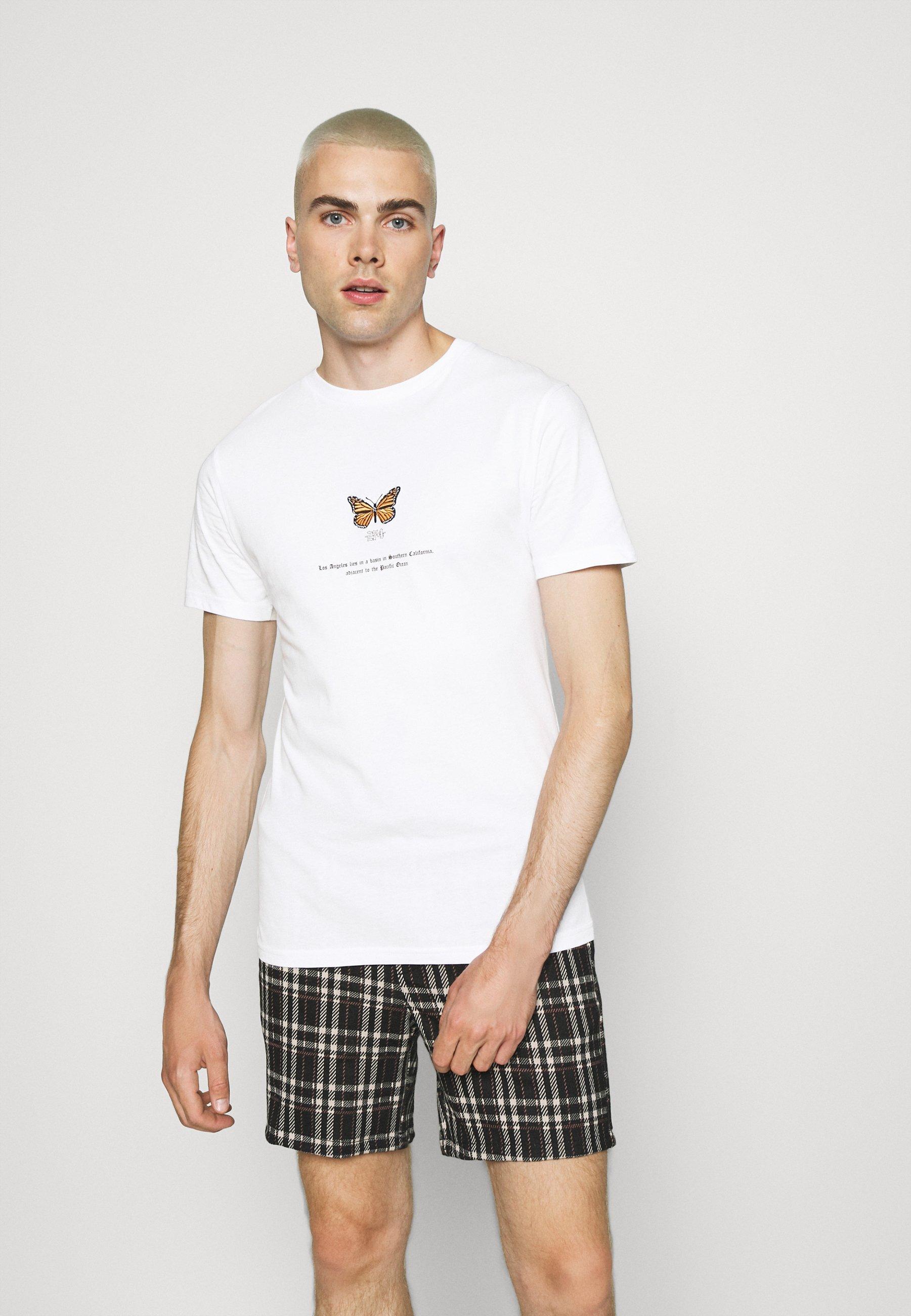 Men BUTTERFLY TEE - Print T-shirt