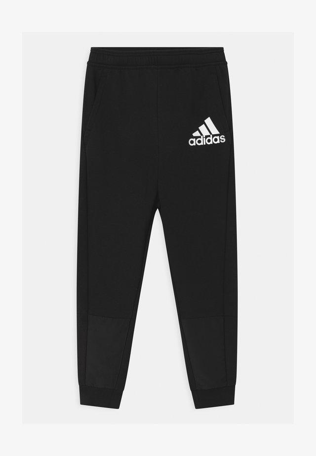 UNISEX - Teplákové kalhoty - black/white