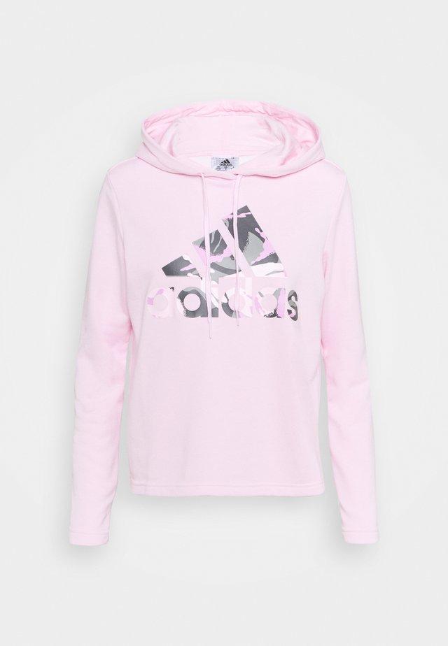 CAMO - Sweat à capuche - clear pink
