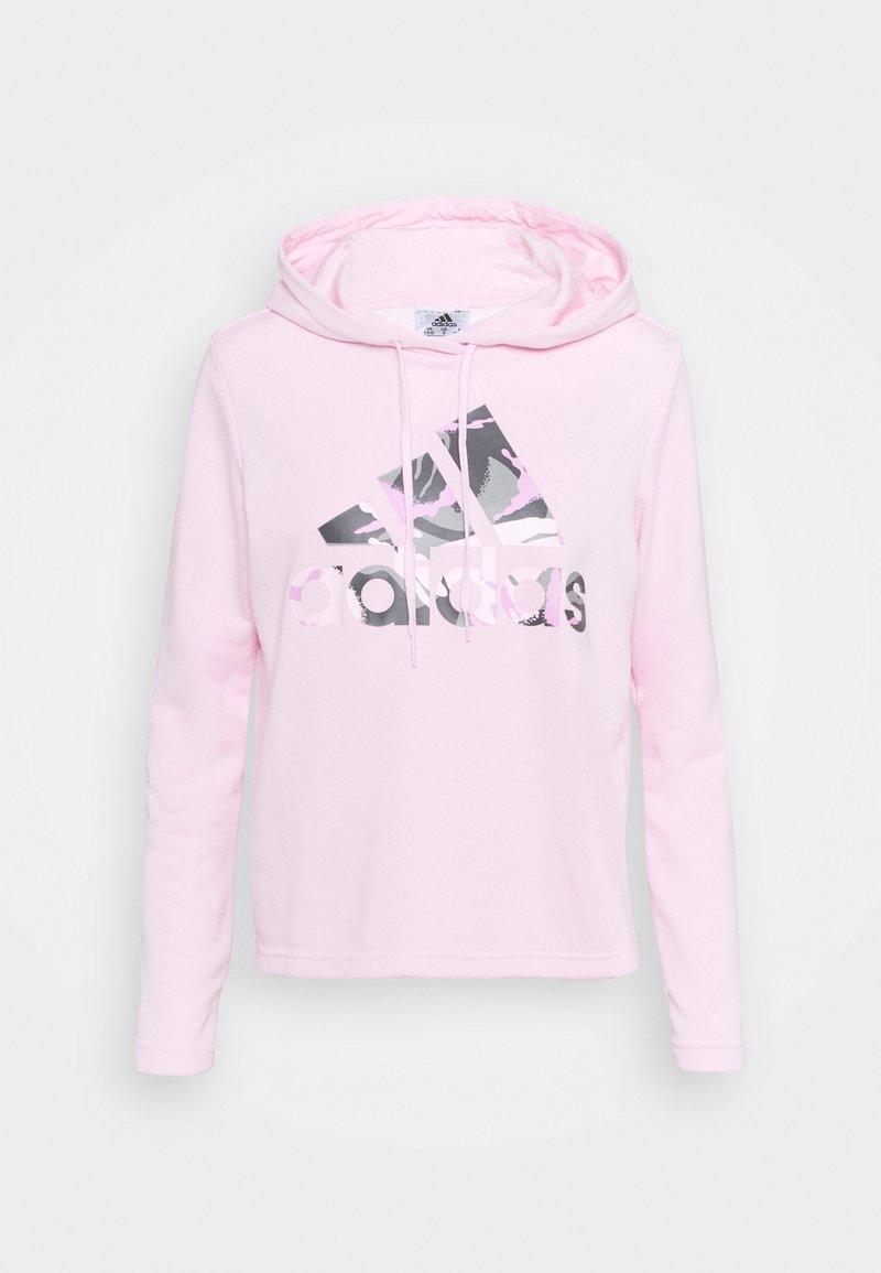 adidas Performance - CAMO - Hoodie - clear pink