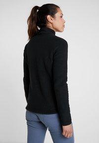 Jack Wolfskin - W MOONRISE JKT - Fleece jacket - black - 2