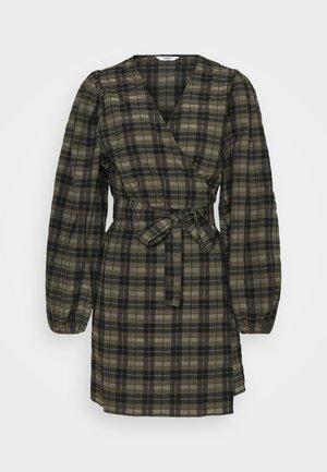 ENRYE DRESS - Day dress - olive