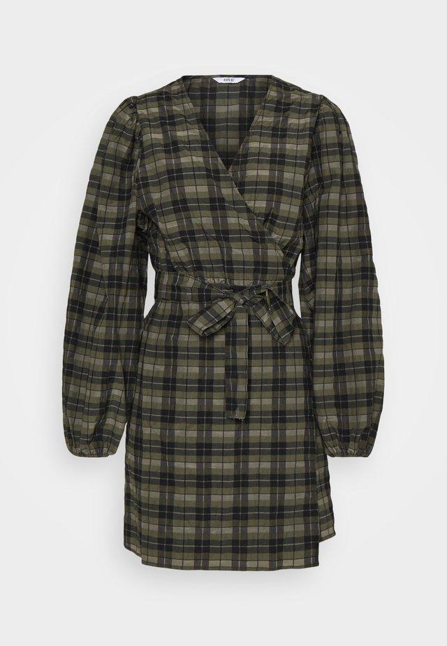 ENRYE DRESS - Korte jurk - olive