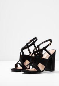 New Look - SWIRLEY  - Sandály na vysokém podpatku - black - 4