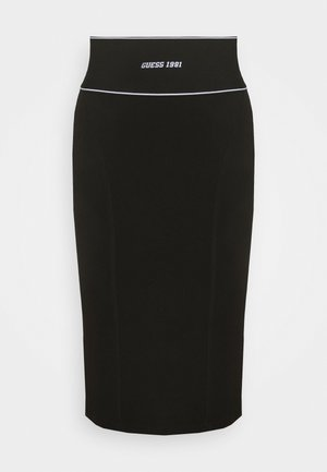 KAYLA SKIRT - Pencil skirt - jet black