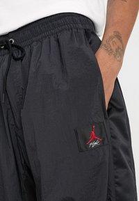 Jordan - FLIGHT WARM UP PANT - Tracksuit bottoms - black - 5
